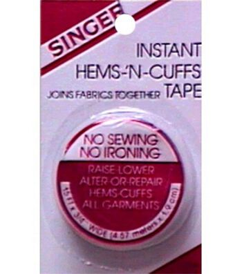 "Singer Instant Hems 'n Cuff Tape-3/4"" x 5yds"