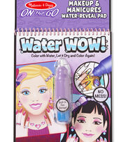 Melissa & Doug® On The Go Water Wow! Activity Kit-Makeup & Manicure, , hi-res