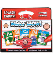 Melissa & Doug On The Go Water Wow! Splash Cards-Alphabet, , hi-res