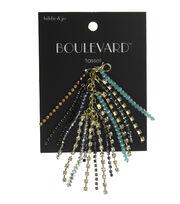 hildie & jo™ Boulevard 3'' Tassel Gold Strands-Beads, , hi-res