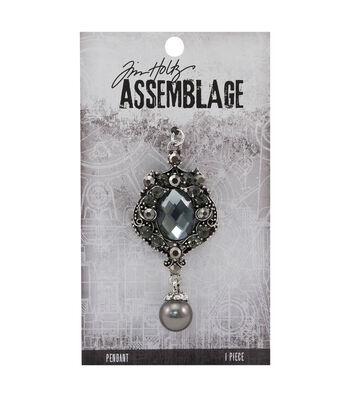 Tim Holtz® Assemblage 2.5''x1.13'' Jeweled Pendulous Pendant