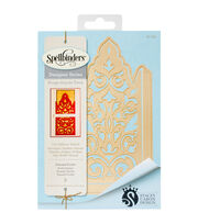 Spellbinders® Shapeabilities® 2 Pack Etched Dies-Damask Pocket, , hi-res
