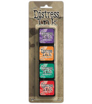 Tim Holtz Distress Mini Ink Pads 4/Pkg-Kit 15, , hi-res