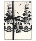 Anna Griffin Black Lace Petticoat Vellum Custom Invitation