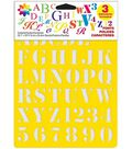 Delta Stencil Mania 3 Pack Value Stencils-Fonts