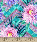 Flower Bursts Print Fabric