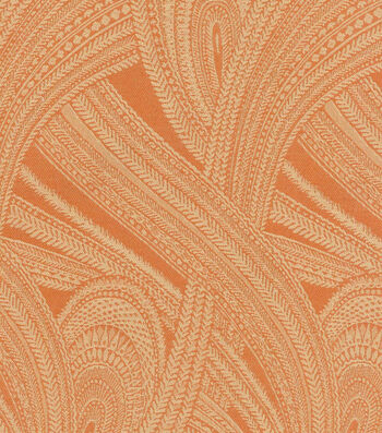 "Waverly Upholstery Fabric 55""-Feather Flight/Henna"