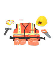 Melissa & Doug Construction Worker Role Play Costume Set, , hi-res