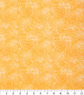 Keepsake Calico™ Cotton Fabric 43\u0022-Floral Orange
