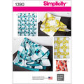 Simplicity Pattern 1390OS One Size -Crafts Crafts