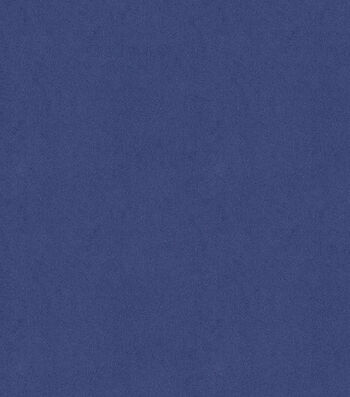 "Signature Series Solid Faux Suede Fabric 58""-Blue"