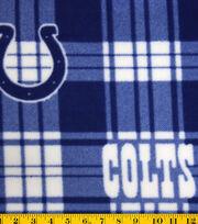 """Indianapolis Colts Fleece Fabric 58""""-Plaid, , hi-res"""