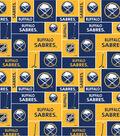 Buffalo Sabres Cotton Fabric 43\u0027\u0027-Block