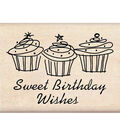 Inkadinkado Sweet Birthday Wishes Stamp