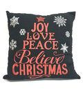 Maker\u0027s Holiday Pillow-Believe Christmas