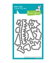 Lawn Fawn Lawn Cuts Custom Craft Die -Snow Day, , hi-res