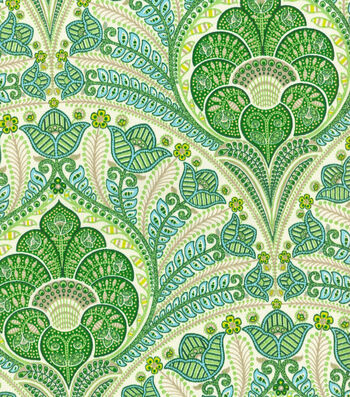 """Tommy Bahama Outdoor Fabric 54""""-Crescent Beach Jungle"""