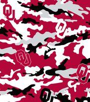 "University of Oklahoma Sooners Cotton Fabric 44""-Camo, , hi-res"