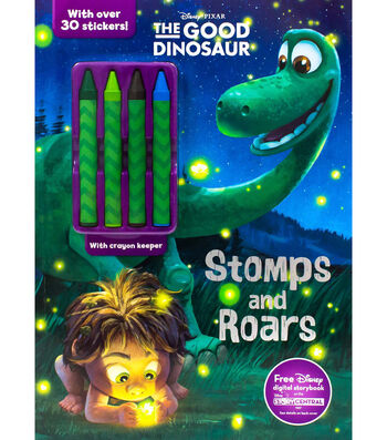 Parragon Disney® Pixar The Good Dinosaur Stomps & Roars Activity Book