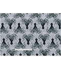Novelty Cotton Fabric 43\u0022-Octopus Damask
