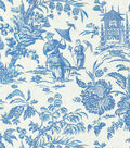 P/K Lifestyles Print Fabric 54\u0022-Asian Arcadia/Sapphire