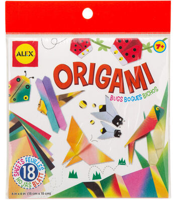 """Origami Paper 6""""X6""""-Bugs"""