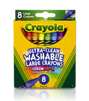 Crayola Growing Kids Large Crayons-8/Pkg, , hi-res