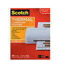 Scotch Thermal Laminating Pouches 5 Mil 100 Pack