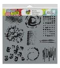 Crafter\u0027s Workshop Impressions Template 12\u0027\u0027x12\u0027\u0027