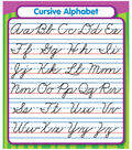 Cursive Alphabet Stickers 24ct