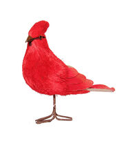 Blooming Holiday Christmas Large Standing Cardinal-Red, , hi-res