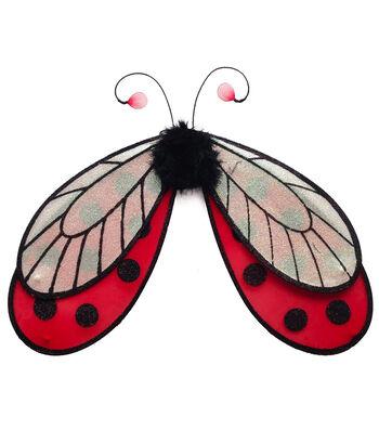 Maker's Halloween Child Wings-Ladybug