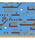 Nintendo Game Scenes Cotton Fabric