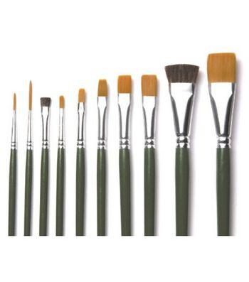 Plaid One-Stroke Value Pack-10 Piece Brush Set