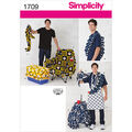 Simplicity Pattern 1709OS One Size -Crafts Crafts