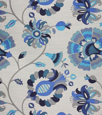 "Richloom Studio Print Fabric 57""-Celtic Sapphire"