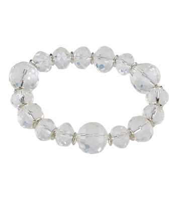 Graduated Multi Bracelet Crystal
