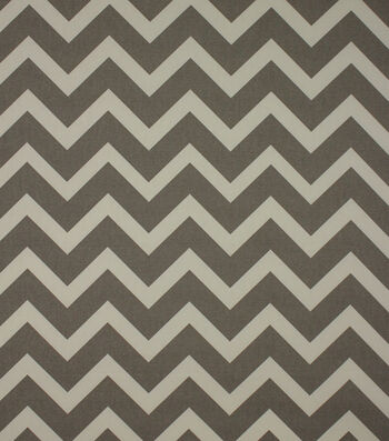 "Home Essentials Print Fabric 45""-Zagami Grey"