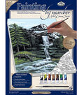 Royal Langnickel Paint By Number Kits Mountain Waterfall
