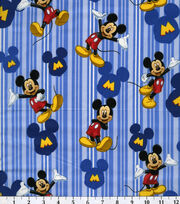 "Disney® Mickey Mouse Cotton Fabric 43""-Character, , hi-res"