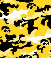 "University of Iowa Hawkeyes Cotton Fabric 44""-Camo, , hi-res"