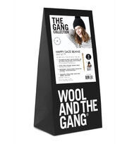 Wool And The Gang Happy Daze Beanie Knit Kit-Space Black, , hi-res