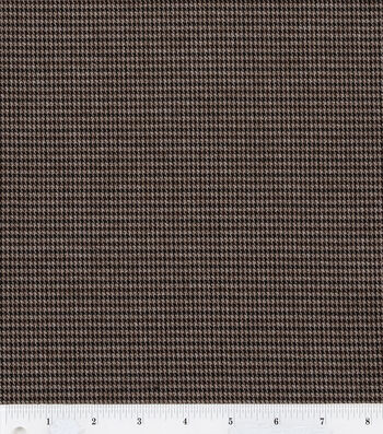 "Fashion Poly Spandex Suiting Fabric 57""-Brown and Navy"
