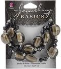 Basics Glass Bead Mix 13.5\u0022 Strand/pk