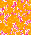 Modkid Studio by Patty Young Cotton Fabric-Breezy Tangerine