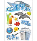 Paper House 3-D Sticker-Cruise