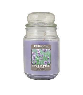 Hudson 43™ Candle & Light Collection 18oz Value Jar Lavender Breeze