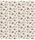 Lydia Red Jacobean Wallpaper Sample