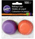Wilton Halloween 100 pk 1.25\u0027\u0027 Mini Baking Cups