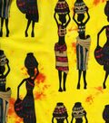 Ethnic Fabric Tribal Women Yellow/Orange